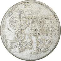 Monnaie, France, Chambre De Commerce, Nice, 10 Centimes, 1922, TB+, Aluminium - Monétaires / De Nécessité