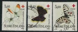 1986 Finland Red Cross Complete Used Set. - Finnland