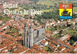 54 - Saint Nicolas De Port - Basilique De Style Gothique (Epoque XV - XVIe Siècles) - Vue Aérienne - Saint Nicolas De Port