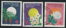 1988 Finland, Red Cross Complete Set Used. - Finnland