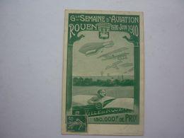 76 ROUEN-GRANDE SEMAINE D'AVIATION JUIN 1910 - Rouen