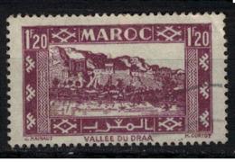 MAROC        N°  YVERT :  228  ( 5 ) OBLITERE       (OB 8 / 25 ) - Maroc (1891-1956)