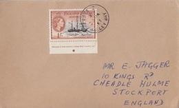 Lettre Des Falkland Dependencies N° 60 (Deutschland), Obl. Base Z Le 30 JA 61 - Falkland