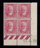 Coin Daté - YV 293 N** Hugo Du 13.4.35 - 1930-1939