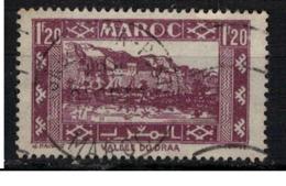 MAROC        N°  YVERT :  228  ( 6 ) OBLITERE       (OB 8 / 25 ) - Maroc (1891-1956)