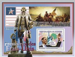 Guinea 2008, President Obama, Art, Washington, BF - George Washington