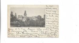 Ansichtskarte Aus Kwassitz In Mähren Nach Wisniowa In Polen 1905 - Lettres & Documents