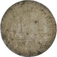 Monnaie, France, Chambre De Commerce, Bayonne, 10 Centimes, 1917, TTB, Iron - Monétaires / De Nécessité