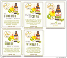 #D143-198 Reeks Viltjes Duvel - Beer Mats
