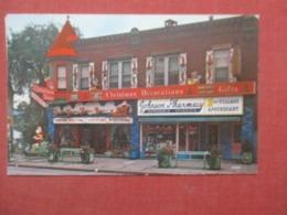 Johnson Christmas Store  & Johnson Pharmacy Smethport Pennsylvania    Ref 4292 - United States