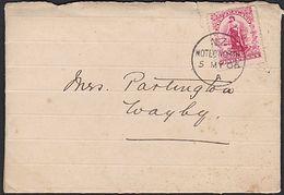 NEW ZEALAND CLOSED PO HOTEO NORTH (AK) - 1855-1907 Crown Colony