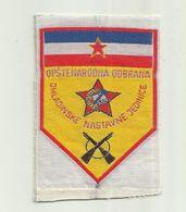 Yugoslavia ONO Patches Flag Komunist Period - Ecussons Tissu