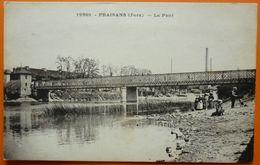 CARTE FRAISANS - 39 - LE PONT -SCANS RECTO VERSO-13 - Autres Communes