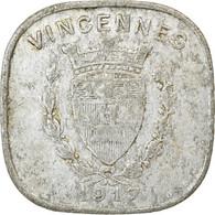 Monnaie, France, Union Commerciale Et Industrielle, Vincennes, 20 Centimes - Monétaires / De Nécessité