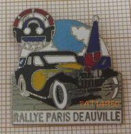 RALLYE PARIS DEAUVILLE FFAE Fédération Francaise Des Automobiles D'Epoques ROLLS BENTLEY BUGATTI ... - Rally