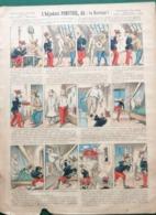 L'ADJUDANT PONCTUEL DIT : LE SORCIER - POT DE CHAMBRE  - IMAGERIE PELLERIN - SÉRIE AUX ARMES D'ÉPINAL - Old Paper