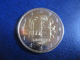 2 EUR 2019 ANDORRA Bi-metallic Coat Of Arms Euro Coin - Andorra