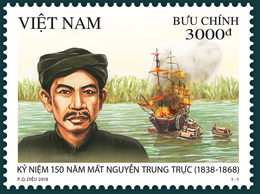 Vietnam Viet Nam MNH Perf Stamp 2018 : 150th Death Anniversary Of Nguyen Trung Truc, National Hero (Ms1099) - Vietnam