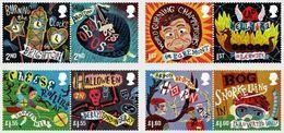 GROSSBRITANNIEN GRANDE BRETAGNE GB 2019 CURIOUS CUSTOMS SET 8V. MNH SG 4223-30 MI 4329-36 YT 4807-14 - Unused Stamps