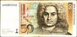 20146) Germania 50 Marchi 1989 BB VF  -banconota Non Trattata.vedi Foto- - [ 7] 1949-… : RFD - Rep. Fed. Duitsland