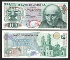 МЕКСИКА 10   1977 UNC - Mexico