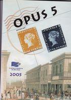 OPUS 5  Academie Europeenne De Philatélie Français /  Anglais 130 Pages - Filatelie En Postgeschiedenis