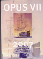 OPUS  VII     Academie Europeenne De Philatélie Français /  Anglais 203 Pages - Filatelie En Postgeschiedenis