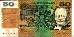 20152) Australia - 50 Dollari Dal 1985 BB++ VF  -banconota Non Trattata.vedi Foto- - Lokale Munt