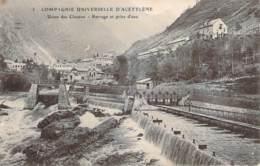 38 - Compagnie Universelle D'Acétylène, Usine Des Clavaux (Inauguration De L'Eclairage Municipal De Buxières-Mines 1910) - Sonstige Gemeinden