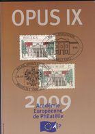 OPUS  IX     Academie Europeenne De Philatélie Français /  Anglais 167 Pages - Filatelie En Postgeschiedenis