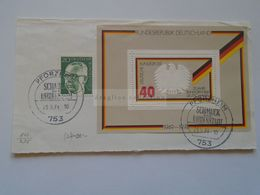ZA301.17 Deutschland - Envelope Cut - PFORZHEIM  Schmuch Und Uhrenstadt 1974 - Usines & Industries