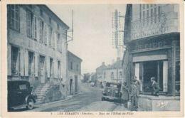 Les Essarts : Rue De L'hôtel De Ville - Les Essarts
