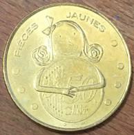75005 PARIS HÔPITAUX DE PARIS PIÈCES JAUNES MÉDAILLE MONNAIE DE PARIS 2006 JETON COINS MEDALS TOKENS 50 CENTS - Monnaie De Paris