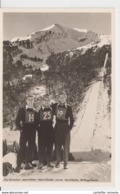 Deutschland - Oberstdorf - Internationale Ski Flug Woche 1950 - Toni Brutscher - Sepp Weiler - Heini Klopfer - See Verso - Sportler
