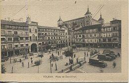X118123 CASTILLA LA MANCHA VEGA DEL TAJO TOLEDO PLAZA DE ZOCODOVER - Toledo