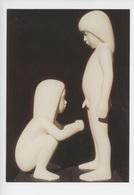 """Marcel Schoenenberger Sculpteur """"Autrement"""" (Nu Garçon Fille) Musée Statues Enfants Domaine Villaret - Sculture"""