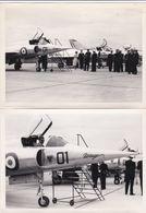 AVIATION AVION MIRAGE 01 CENTRE D ESSAI EN VOL BRETIGNY  1957 2 PHOTOS - Aviation
