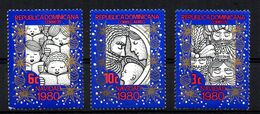 Serie Nº 862/3+A-372 Republica Dominicana - Dominicaanse Republiek