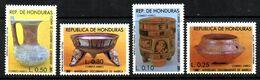 Serie Nº A-729/32 Honduras - Honduras