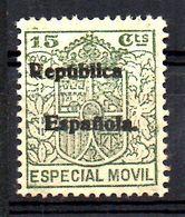 Fiscal Con Sobrecarga Republica Española - Fiscales
