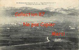 04 ☺♦♦ SAINT ETIENNE Les ORGUES < VUE PANORAMIQUE Sur La MONTAGNE De LURE - France