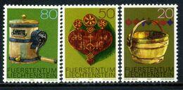Liechtenstein 1980 / Handicrafts Folk Art MNH Artesanía Kunsthandwerk / 1119  38-6 - Cultures