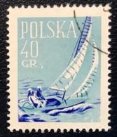 Polska - Poland - P2/12 - (°)used - 1959 - Michel Nr. 1086 - Sporten - Zeilen - Vela