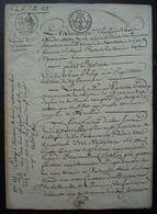 Tonneins 1818 (Lot Et Garonne) Vente D'une Maison Au Quartier Biscaret Par Jean Philip à Jean Capdeville - Manuscritos
