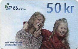 Estonia Phonecard Elion E15 - Estonia
