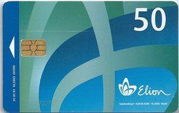 Estonia Phonecard Elion E01 - Estonia