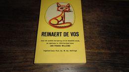 BOEKJE _ REINAERT DE VOS _ RIJMBOEKJE _ ANNO 1958   _____ BOX : J - Poésie