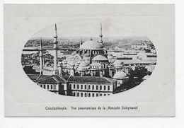 CONSTANTINOPLE - Vue Panoramique De La Mosquee Suleymanie. - Ludwigsohn - Türkei