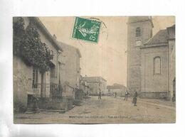 70 - MONTIGNY-les-CHERLIEU - Rue De L' Eglise - Andere Gemeenten