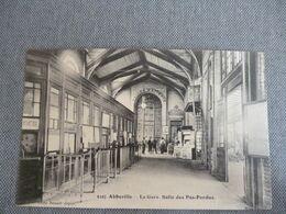 Abbeville  La Gare  Salle Des Pas Perdus - Abbeville